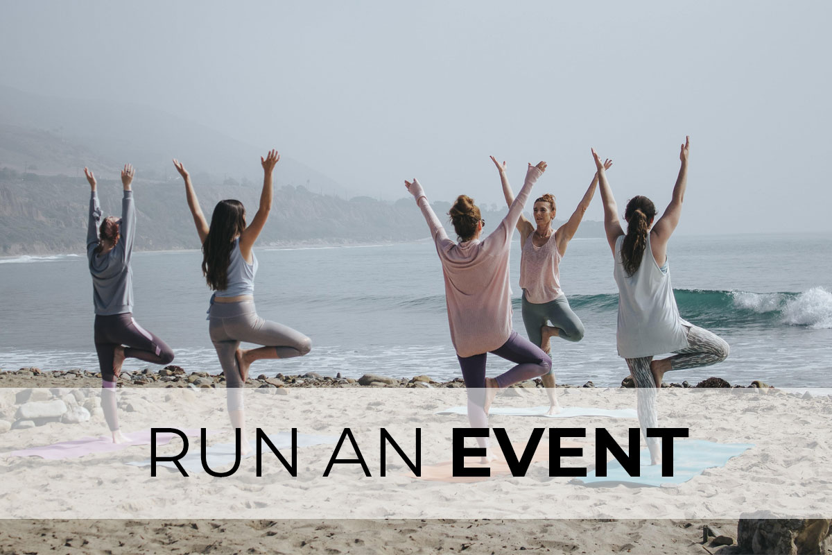 We'll Get You Set up to run a successful event.