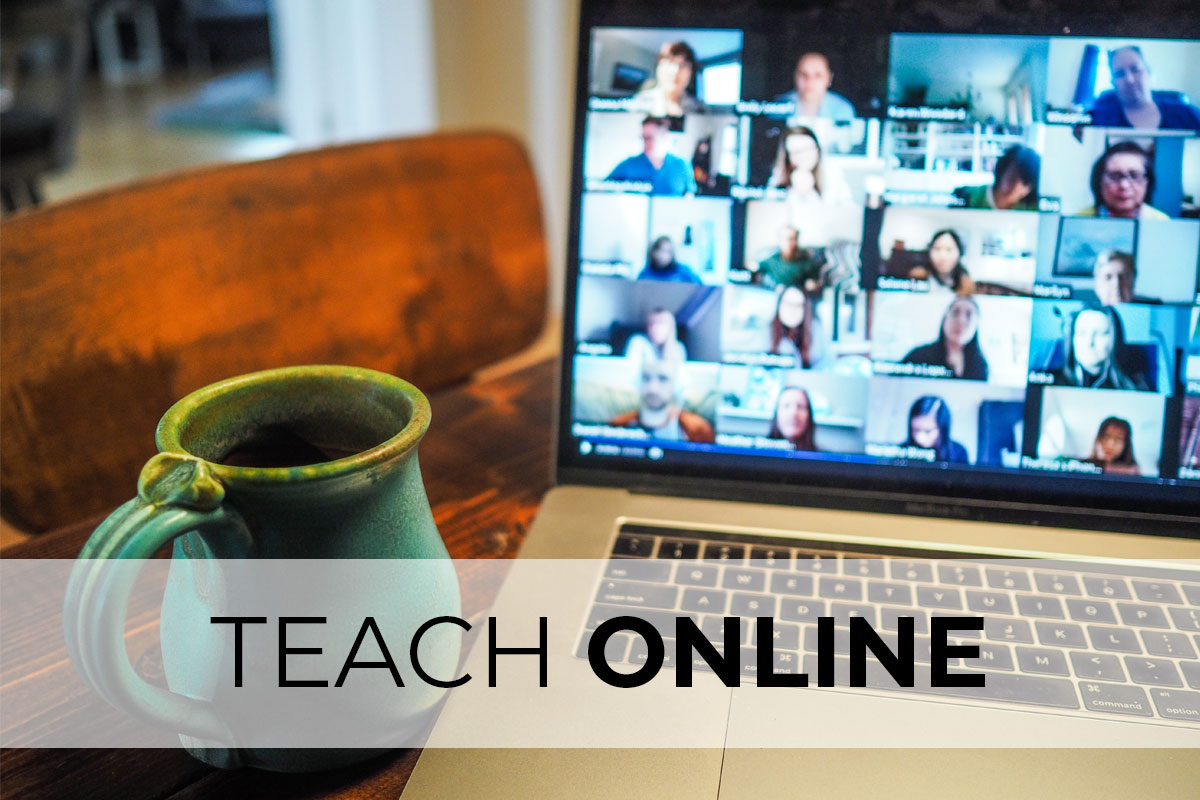 We'll get you up and running teaching online.